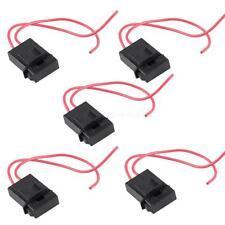 5 Pcs 22 Gauge ATC Fuse Holder Box In-line AWG Wire Copper 12V Power Blade JHXG