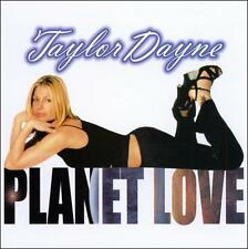 Planet Love [Single] by Taylor Dayne (CD, Mar-2000, Jellybean) NEW