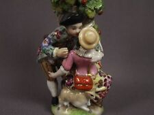 Antique 19c German Porcelain Figural Figurine Perfume Scent Bottle