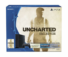 Sony PlayStation 4 Slim UNCHARTED: The Nathan Drake Collection Bundle 500GB...