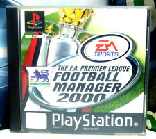 THE F.A. PREMIER LEAGUE FOOTBALL MANAGER 2000 - PS1 2 PLAYSTATION - MODENA