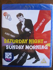 SATURDAY NIGHT AND SUNDAY MORNING (1960) (Locked REGION B Blu-Ray) BRAND NEW!!!