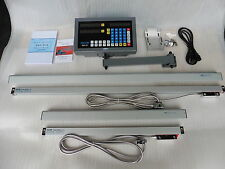 "Digital Read Out System Kit for Milling Machine. 2-Axis,fit for 9""x42""/49"" table"