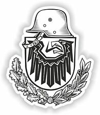 Coat of Arms Sticker of the Army - Germany Deutschland for Truck Boat Guitar