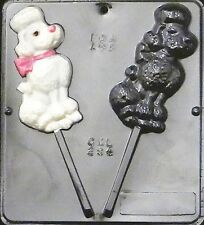 Poodle Lollipop Chocolate Candy Mold  294 NEW