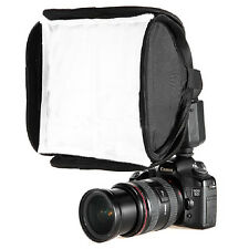 23x23cm Mini Protable Softbox Diffuser for Yongnuo Nikon Canon Flash Speedlite