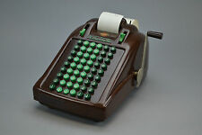 Victor 6 row adding machine  Movie prop quality.