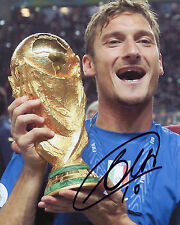 Francesco Totti - Italy - 2006 World Cup Winner - Signed Autograph REPRINT