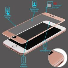 3D CURVED Titanium Tempered Glass Rose Gold Screen Protector 9H For iPhone 6/6S