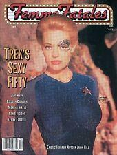 Femme Fatales Magazine Jerri Ryan Vol 8 No 14 April 2000