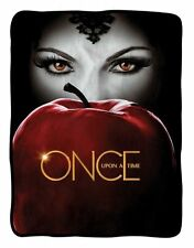 New Once Upon a Time Evil Queen Apple Gift Blanket Regina TV Series