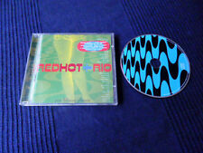 CD Red Hot & Rio George Michael & Bebel Gilberto Sakamoto Byrne Jobim & Sting