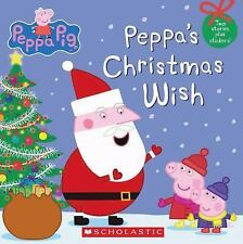 Peppa Pig: Peppa's Christmas Wish (2013, Picture Book)