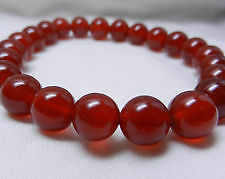 Carnelian Stone Bracelet 8mm ♥Regenerates and Gives More♥ vitality♥Joy♥