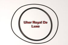 SET BELTS UHER ROYAL DE LUXE REEL TO REEL EXTRA STRONG NEW FACTORY FRESH