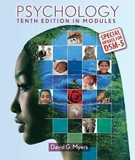 Psychology in Modules with Updates on DSM-5 by David G. Myers (2014,...