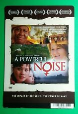 A POWERFUL NOISE SHEILA JOHNSON MINI POSTER BACKER CARD (NOT a movie )