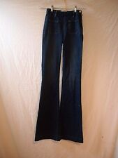 """104d FRAME JEANS LE HIGH FLARE PATCH POCKET TROUSERS """"LOMA VISTA"""" SZ 27 NWT"""