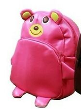 Kid Leather Animal Zoo BackPack Bag - pink bear