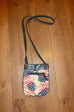 Claire's USA themed cross body bag
