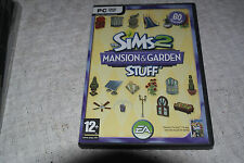 PC Game The Sims 2: Mansion & Garden Stuff (PC: Windows, 2008)