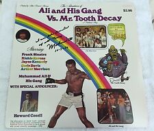 """Muhammad Ali signed N inscribed record album """"I'm the greatest of all time"""" JSA"""