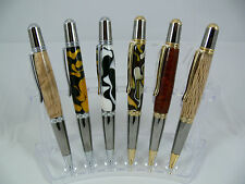 1 x Sierra Luxury Ball Point Twist Writing Pen Australian Hand Made Wood Resin