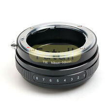 Macro Tilt Nikon AF AF-S Lens to Nikon Camera Adapter Ring For D7100 D800 D5200