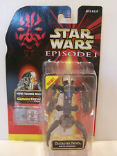 Star Wars Episode 1 The Phantom Menace Destroyer Droid Battle Damaged MOC 1998