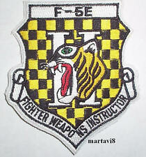 US. Air Force F-5E Fighter Instructor Cloth Badge / Patch (TG2)