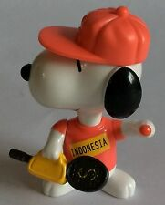 MCDONALDS TOY – PEANUTS – SNOOPY - WORLD TOUR - INDONESIA