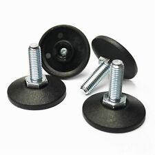 4 x Stellfuß M10 x 30mm Gewinde für Kleiderständer Möbelbau Schränke