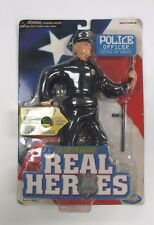 2001 Electronic Real Heroes Police Officer Action Figure