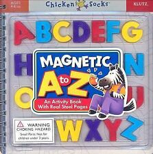 Chicken Socks Ser.: Magnetic A to Z Activity Book (2005, Hardcover) by Klutz