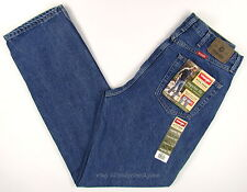 Wrangler Jeans New Mens Size 36 x 34 DARK STONEWASH - REGULAR FIT Straight #1318