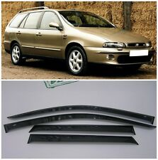For Fiat Marea Weekend 1996-2003 Window Visors Side Rain Guard Vent Deflectors