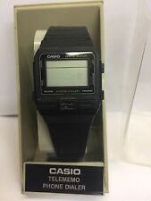 VINTAGE CASIO DBA-80 555 DATA BANK PHONE DIALER LCD WATCH BRAND NEW! RARE!!