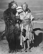 1965's LOST IN SPACE Wally Cox & bird monster b/w 8x10 portrait