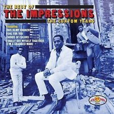Best Of The Impressions: The Curtom Years - Impressions (2016, CD NIEUW)