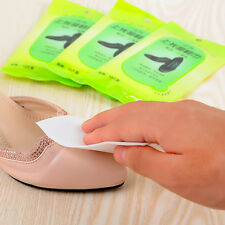 Utility 10X/Pack Shoes Art Vanish Remover Cleaner Disposable Shoeshine Wet Wipes