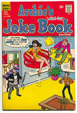 Archie's Joke Book 144 1970 FN VF Veronica Jughead Inflatable Floating Chairs