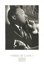 PHOTO ART PRINT Martin Luther King : Free at Last! 36x24 African American Poster