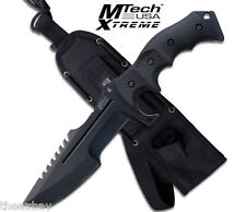 "11"" MTECH XTREME TACTICAL COMBAT HUNTING KNIFE Survival Military Blade MX-8054"