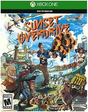 New Microsoft Xbox One Sunset Overdrive Video Game - Physical Blu-Ray DVD