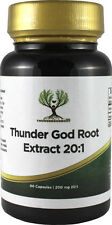 90 Thunder God Vine Root 200mg Capsules Tripterygium Wilfordii 20:1 Extract