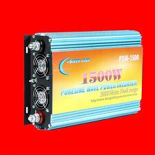 1500W pure sine wave power inverter, DC 12V / AC 110V, 60hz, tool, USA stock