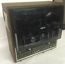GENUINE VINTAGE AKAI X-1810 REEL-TO-REEL TAPE RECORDER TESTED WARRANTY