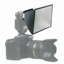 Universal Foldable Flash Diffuser Softbox for Canon 600EX 580EX II 430EX 420EX
