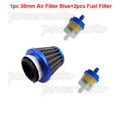 38mm Air Filter Fuel Clearner For ATV Quad 50 110 125 cc Dirt Bike Moped Scooter