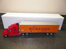 SWORD 1:50 FREIGHTLINER CENTURY CLASS S/T (RED) WITH MILWAUKEE R.R. BOX TRAILER
